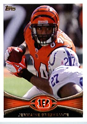 2012 Topps Football Card # 137 Jermaine Gresham - Cincinnati Bengals (NFL Trading Card)