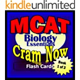 MCAT Prep Test BIOLOGY Flash Cards--CRAM NOW!--MCAT Exam Review Book & Study Guide (MCAT Cram Now! 1) (English Edition)