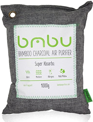 1000g Large Bamboo Charcoal Air Purifier Bag ? Deodorizer And Air Freshener  ? Remove Odor And Control Moisture In ...