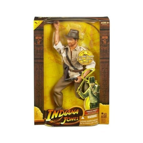 Picture of Hasbro Indiana Jones Figure: Indian Jones with Whip Action 12 Inch (B000Z4RIRE) (Hasbro Action Figures)