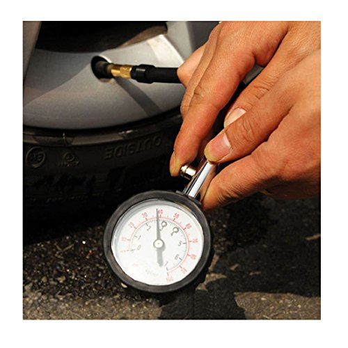Iuhan® New Truck Auto Vehicle Car Tyre Tire Air Pressure Gauge Table Tester Meter (110 Psi Dial Tire Pressure Gauge compare prices)