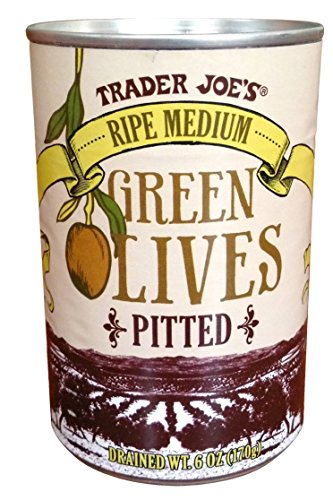 Trader Joe's Medium Green Olives (Trader Joes Black Pepper Sauce compare prices)