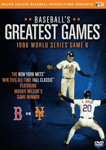 Juegos más grandes del béisbol: serie mundial de 1986 6 [DVD] y [Import]
