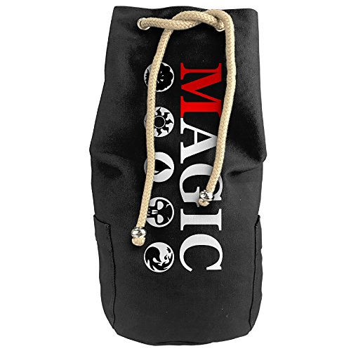 Bandy Magic The Gathering Symbol Canvas Drawstring Backpack Bucket Bag (25 Steam Wallet Card compare prices)