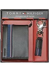 Tommy Hilfiger Men's Slim Passcase & Key Fob Wallet