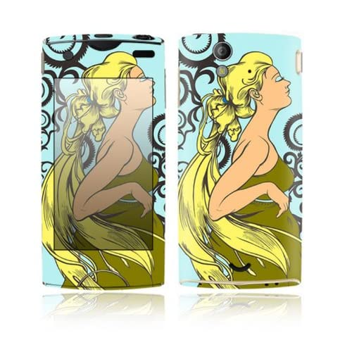 Dreamer Design Decorative Skin Cover Decal Sticker for Sony Ericsson Xperia Ray Cell Phone