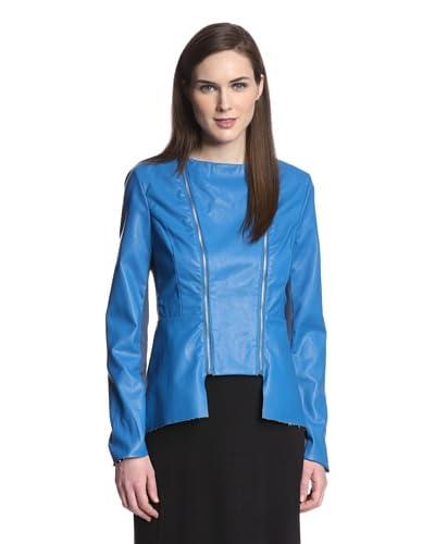 W118 by Walter Baker Outerwear Women's Lewis Faux Leather Peplum Jacket