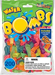 Pioneer National Latex 200 Count Water Bombs, Neon