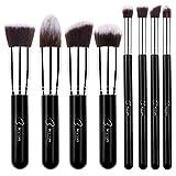 BESTOPE Makeup Brushes 8 Pieces Makeup Brush Set Professional Face Eyeliner Blush Contour Foundation Cosmetic Brushes for Powder Liquid Cream