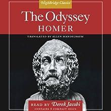The Odyssey | Livre audio Auteur(s) :  Homer, Allen Mandelbaum - translator Narrateur(s) : Derek Jacobi