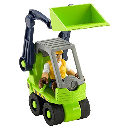 Fisher-Price Rescue Heroes - Jack Hammer & Front Loader - 1