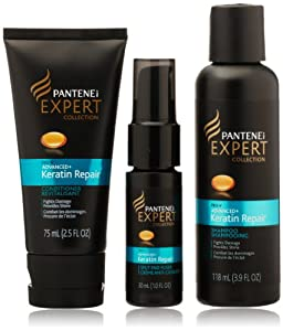 Pantene Pro-V Expert Collection Advanced Keratin Repair Hair Products Starter 1 Kit