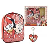 MINNIE - Set regalo (mochila peque�a polyester + llavero) de minnie mouse