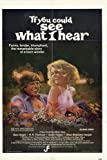 If You Could See What I Hear Poster 27x40 Marc Singer R.H. Thomson Sarah Torgov