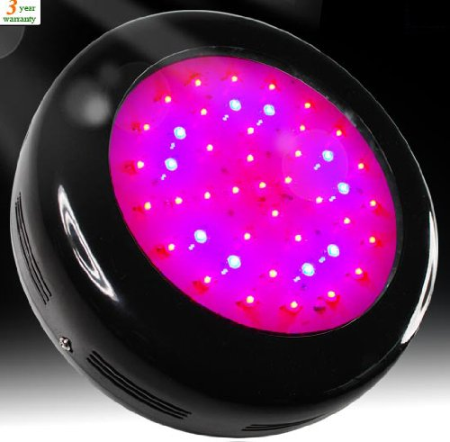 Goledgo Red/Blue 90W(45*3W 135W Max) Smart Ufo Led Plant Grow Light Panel 8:1 Ac85-265V
