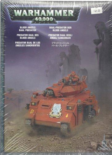 Blood Angels Baal Predator Space Marines Warhammer 40k