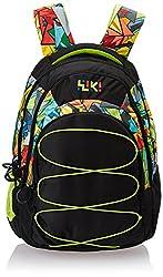 Wildcraft Wiki Daypack 34 liters Black Casual Backpack (8903338049043)