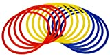 Best Agility Ladders - Precision Training Speed Agility Rings Hoops - Red/Yellow/Blue Review