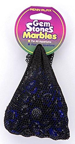 Pen-Plax AG2 90 Bag Gemstones Decorative Aquarium Stones, Blue (Fish Tank Stones compare prices)