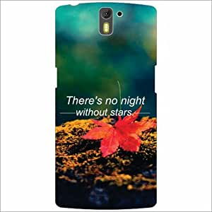 Oneplus One A0001 Back Cover - No Right Without Stars Designer Cases