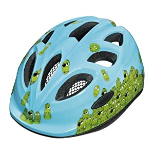 ABUS Kinder Fahrradhelm Smiley, Croco family, 50-55 cm from ABUS