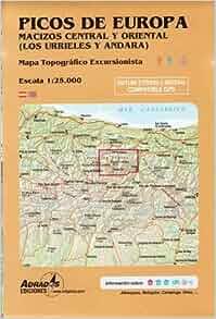 Picos De Europa - Macizos Central y Oriental: 9788493317782: Amazon