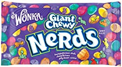 WONKA GIANT CHEWY NERDS ROPE SOFT N CHEWY 51G