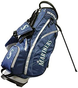 MLB Seattle Mariners Fairway Stand Golf Bag, Navy by Team Golf