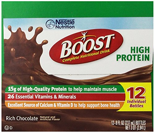 Boost High Protein Energy Drink 8 Oz: Boost High Protein Complete Nutritional Drink Rich