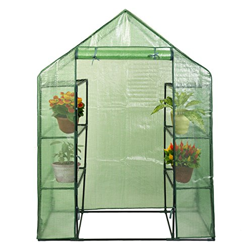 NEW Portable Mini 8 Shelves Walk In Greenhouse Outdoor 4 Tier Green House (Automatic Mister Terrarium compare prices)