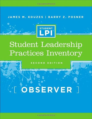 The Student Leadership Practices Inventory (LPI), Observer