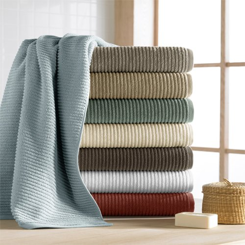 Who Sells Cannon Bath Towels: CassaDecor Set Of 6 100% Combed Long Staple Turkish Cotton