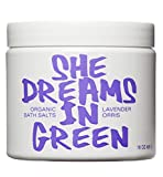 Nature Girl - Organic Bath Salts (She Dreams in Green) (Lavender Orris)