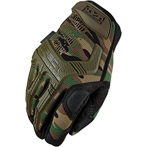 Mechanix Wear M-Pact MPT-71 Green 12 Synthetic Leather/Trekdry Mechanic's Gloves, Camo, Size XX-Large