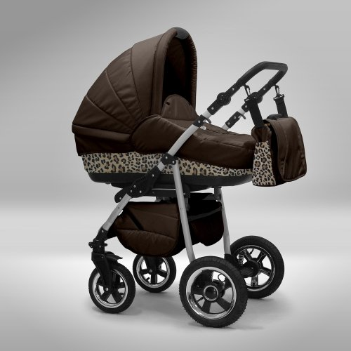 Akjax-Fobos-3-in-1-Combination-Pushchair-Set-Including-Pushchair-with-Aluminium-Frame-Carry-Cot-and-Sun-Shade-Available-in-40-Colours