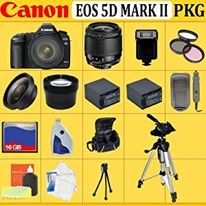 New Canon EOS 5D Mark II 21.1 Megapixel Full-Frame Sensor Digital Camera Best Seller 2012