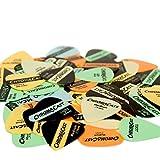 ChromaCast CC-VP-VAR60PK Assorted Vintage Colors Guitar Picks in Light, Medium and Heavy - 60-Pack