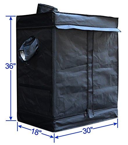 Xmas-GiftBig-Sales-Reflective-Mylar-30-X-18-X-36-Hydroponics-Grow-Tent-Hydro-Box-Hut-Cabinet
