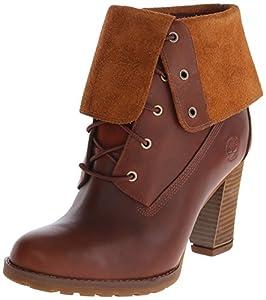 Timberland Women's EK Stratham Heights WP Fold Boot,Glazed Ginger,5.5 M US