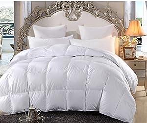 Merax White Box Stitched Alternative Lightweight Comforter Duvet Insert (Breathable Queen)
