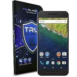 TRUGLASS Screen Protector for Nexus 6P - Retail Packaging - Nexus 6P Temglass 3