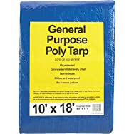 Do it Best GS Tarps 767875 All-Purpose Blue Poly Tarp-10X18 BLUE AP TARP