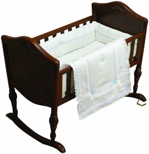 Imagen de Baby Doll Bedding Royal Classic Cuna Del lecho, Azul