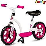 Bicicleta para ni�a con ruedas silenciosas, estribo y soporte, a partir de 2�a�os, con pata