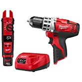 Milwaukee M12 12-Volt Cordless Drill and Fork Meter Combo Kit