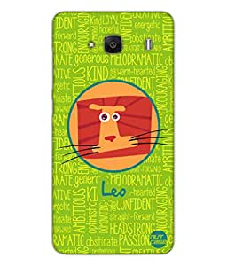 Designer Xiaomi Redmi 2 Case Cover Nutcase - - Star Signs - Leo