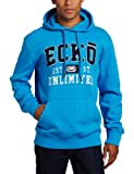 ecko unltd. Men's Popover Fashion Hoodie, Bright Blue, Medium