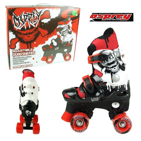 Adjustable Quad Skates Size 3-5 (Boys)