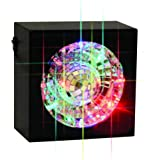 Creative Motion Square Rotating Mirror Ball Light with LED