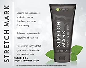 It Works! Stretch Mark Moisturizing Cream, 6 Fluid Ounce